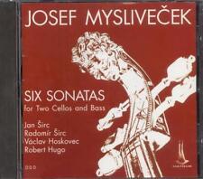 MYSLIVECEK - 6 Sonatas For Two Cellos & Bass - Jan & Radomir SIRC / HOSKOVEC