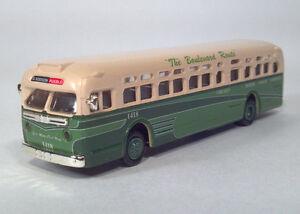 American Precision Models APM1:87 Chicago Motor Coach Company Transit Bus 1418