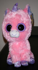 """Ty Beanie Boos ~ MAGIC the 6"""" Unicorn (1st Gen 2012 Tags) ~ NEW with MINT TAGS"""