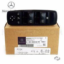 NEW Mercedes W164 ML X164 GL W251 R Class Front Left Door Window Switch Genuine