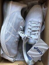 Asics Gel-kenun Mujer Calzado para Correr Entrenadores Blanco glaciar gris Tamaño UK 8.5 Nuevo