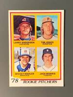 1978 Topps #703 Jack Morris Rookie EX+ Detroit Tigers HOF