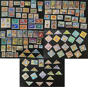 Mongolia collection of 100's VF used stamps many are complete sets (k366)