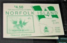 Norfolk Island :-  Nudibranchs SB5 Booklet great cancellation post marks