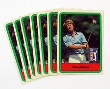New listing Lot of (8) 1982 Donruss Golf Tom Watson #3 PGA Tour DF031320