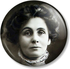 "Emmeline Pankhurst Suffragette 1"" Pin Button Badge Feminist Women's Rights March"