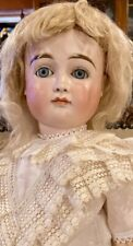 "Antique 21"" German Bisque Kestner CM XII Pouty Doll w/Straightwristed Body"