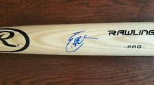 ERIC HOSMER Autograph Baseball BAT San Diego Padres Signed JSA Certified Auto KC