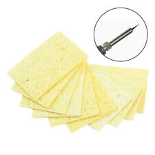 10pcs High Temperature Resistant Soldering Iron Solder Tip Cleaning Sponge