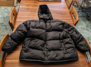 Cabelas Premier Northern Goose Down Cold Weather Puffer Mens 3XL Tall Reversible