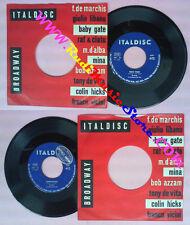 LP 45 7'' MINA Tessi tessi Coriandoli italy ITALDISC MH 53 no cd mc vhs