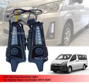 DRL Daytime Running Light Fit Toyota Hiace Commuter 2019 2020