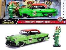Poison Ivy & 1953 Chevy Bel Air DC Comics Bombshells 1:24 Jada Toys 30455