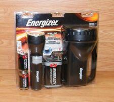 Genuine Energizer 2 Pack Black 13 Lumens Work Light/Lantern Combo **NEW**