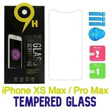 iPhone XS Max/Pro Max  LOT Tempered Glass in Retail Packaging Screen Protectors
