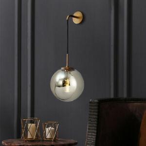 Indoor Wall Light Bar LED Wall Lighting Kitchen Wall Sconce Grey Glass Wall Lamp