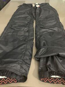Stratton Black  snow pants Size 2 New