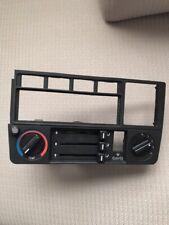 BMW E30 AC heater HVAC panel