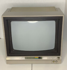 Commodore 1702 Monitor 60hz / TESTED WORKING Vintage computer monitor Rare PC