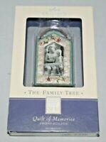 "Hallmark The Family Tree Photo Holder #QEP1307 ""Quilt of Memories"" NIB"