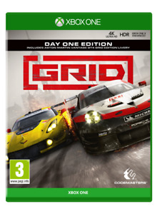 GRID Day One Edition Xbox One FREE POST LIKE NEW INCLUDES MANUAL!