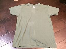 Element Sustainable Product Heather Green V Neck Shirt - Size Large
