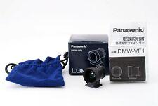 Panasonic Lumix DMW-VF1 View Finder 24mm w/ Box Case From JAPAN [Near MINT]