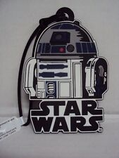 DISNEY STAR WARS R2D2 LUGGAGE BACKPACK NAME TAG - NEW