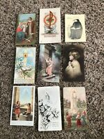 9 Vintage Catholic Holy Prayer Cards from 1930s / 40s