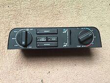 Jaguar XJ40 93-94 heating fans climate control panel heater DBC6416 DBC11818
