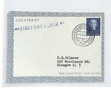 BM145 1949 Netherlands Amsterdam Glasgow Scotland GB Cover {samwells-covers} PTS