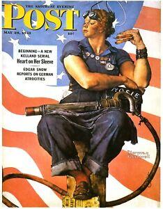 We Can Do It Vintage Propaganda Rosie The Riveter Women Power Kraft Paper Poster