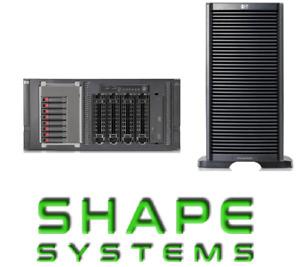 HP ML350 G6 ProLiant Tower Server Quad Core 4GB RAM 2xPSU (£186 ExVAT)