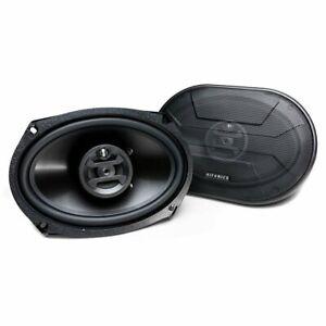 "Hifonics ZS693 6"" x 9"" Zeus Series 800W Max 3-Way Coaxial Car Speakers (Pair)"