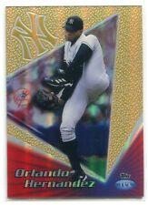 1999 Topps Tek Gold Pattern 3 40b Orlando Hernandez 3/10
