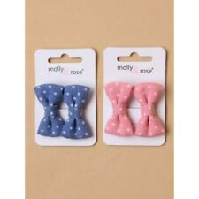 2 x Polka Dot Hair Clips | Kids Accessories | Hair Accessories | 2 Pack