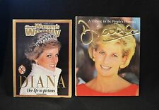 Lady Diana Womens Weekly Oct 1997 & A Tribute To The Peoples Princess Book
