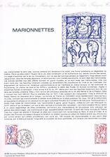Document Officiel   1982 34   Marionnettes  Yv N° 2235