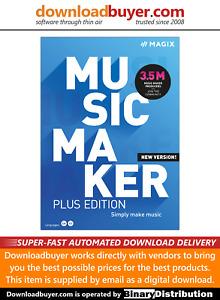 MAGIX Music Maker 2021 Plus - [Download]
