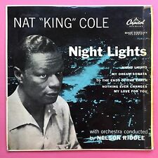 Nat King Cole - Night Lights - My Dream Sonata - Capitol EAP-1-801 Ex Condition