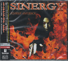 SYNERGY-TO HELL AND BACK-JAPAN CD E75