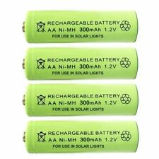 AA Ni-MH 300/600/1000mAh 1.2V Rechargeable Solar Light Batteries For Garden
