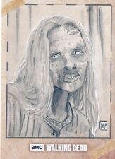 2017 Topps Walking Dead Season 6 Sketch Card Marsha Parkins Walker Free Ship