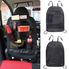 Black Portable Multi-Pocket Pouch Storage Bag Car Back Seat Organizer