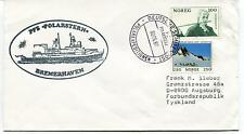 1987 PFS Polarstern Bremehaven Polarexpeditionen Polar Antarctic Cover