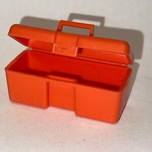 Big Jim Original Vintage Mattel Red Toolbox. Excellent Condition.