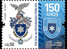 Portugal 2017 - The Portuguese Public Security Police stamp set mnh