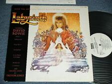 ost DAVID BOWIE Japan 1986 White Label PROMO NM LP LABYRINTH