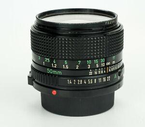 Canon new FD 50mm 1:1.4 obiettivo standard fast lens canon fd mount 1734512