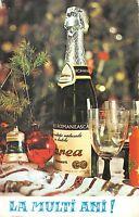 BR72005 la multi ani new year champagne festive table romania